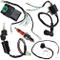 TOOGOO Cablaggio Kit Cablaggio Cdi Bobina D'Accensione Kill Switch Plug Rebuild Kit per 12...
