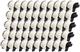 50 Compatibili Rotoli DK-22205 62mm x 30.48m Etichette adesive continuo per Brother P-Touc...