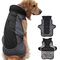 Idepet Giacca per cani Cappotto caldo, Tuta da sci per animali resistente all'acqua, Abbig...
