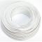Cavo per altoparlante, 2 x 0,50 mm2, cavo audio 0,50mm2-50m bianco