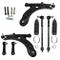 1X kit riparazione: Braccio Trasversale del tirante barra accoppiamento giunto assiale Le...