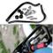 """Triclicks Paramani per Moto /Motocross Manubrio 7/8"""" 22mm Alluminio Universale Nero"""