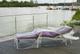 eigbrecht 142256klarsicht Telone di copertura per sedia a sdraio 200X 70X 56/40cm
