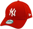 New Era 9forty MLB, cappellino con visiera dei New York Yankees Bianco/Rosso/Yankees New Y...