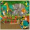 GREAT ART Fotomurale per Camera dei Bambini – Animali della Giungla – Zoo Decorazione Natu...