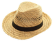 Black Jungle Varadero - Cappello di paglia naturale Havanna, estivo, cappello unisex Fedor...