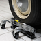 Due cric idraulici per auto Portata 680 kg ognuno Larghezza pneumatico fino a 30 cm