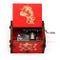 FGHFG Carillon Dragon Ball Meccanico Girevole Avvolgitubo in Legno Intagliato Decorazione...