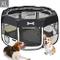 MC Star Oxford Pieghevole Box per Cani Impermeabile Grande Recinto per Animali, Cuccioli,...