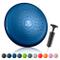 BODYMATE Cuscino propriocettivo Gonfiabile per Equilibrio comprensivo di Pompa - Cuscino c...