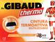 DR. GIBAUD Thermo - Cintura elastica termoattiva riutilizzabile + 8 cerotti autoriscaldant...