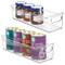 mDesign Set da 2 contenitori per frigorifero – Contenitore per alimenti freschi o confezio...
