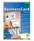SIGEL SW670 BusinessCard Software, per la personalizzazione biglietti da visita, incl. 200...