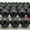 6mm 8mm 10mm 12mm 14mm 16mm perle in pietra naturale rotondo nero opaco nero onice l...