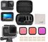 Kit di Accessori per GoPro Hero 8 Black Accessori, iTrunk 24 in 1 cover in silicone pellic...