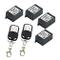 eMylo AC 220V-230V-240V 1000 W 4 x 1 canali Smart Relè RF Switch Modulo di controllo remot...
