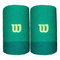 Wilson, Extra Wide Schweißband-Dunkelgrün, Grün, nosize, Bande tergisudore. Unisex-Adulto,...