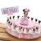 VialeMagico Bomboniere Disney Minnie Nascita Battesimo 1 Compleanno Bimba Torta Statuina N...