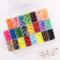 Vaessen Creative Perline a Fusione, Mix di 24 Colori, Set di 5000 Pezzi in Scatola per Con...