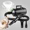 Wilktop 2400W Soffiatore per Cani, Asciuga Cani Professionale Pet Dog Drying velocità di V...