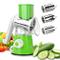 HEDDK Taglia Verdure Frutta Affettatrice, Multifunzione Manuale Professionale Regolabile K...