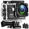 FMAIS 1080P Action Camera Camcorder Full HD LCD da 2 pollici Underwater 30m / 98ft Fotocam...