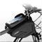 dongwenchao1104 Borsa per Bici su Tubo, Impronta Digitale Sblocco per Borsa da Sella Anter...