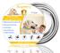 Collare Antipulci Cane Impermeabile, Collari Antiparassitario per Cani Aaturale e Sicura R...