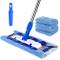 MR.SIGA Professionale Mop in Microfibra con Maniglia in Acciaio Inossidabile per Pavimento...