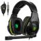 Sades SA938 Cuffie Da Gaming Con Microfono 3,5mm stereo Jack Controlli Sul Cavo Per PC/Nuo...