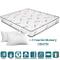 Evergreenweb - Materasso Matrimoniale 160x190 in Waterfoam Ortopedico Alto 20 cm + 2 Cusci...