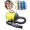 HD2DOG Asciugacapelli Professionale per Cani, Ventilatore Regolabile per velocità E Vento...