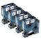 Nastro per Etichette Fimax Compatibile In sostituzione di Dymo D1 45013 S0720530 12mm x 7m...