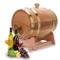 Vino Botte di Rovere, 1.5/3/5/10L Botte di Rovere per Vino Whisky Tequila, Dispenser a vin...