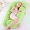 OurLeeme Maternity Pillow Confortevole U Shape Pillow Full Body Support Ultra Soft Cuscino...