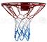 Hangring - Canestro da basket con anello in metallo, per bambini, 37 cm/45 cm, 37cm