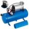 HODOY Compressore Aria 6L Compressore 12V Compressore Portatile Mini Compressore (Blue)