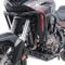 Paramotore con paracoppa per Honda Africa Twin CRF 1100 2020 Motoguard nero