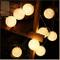 ELINKUME LED Stringa di Luce 20LEDs Sfera Della Lana 3.3M Luci di Fata Batteria Powered De...