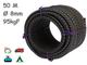 Magma Rotolo di Corda Elastica | Corde Elastiche da 8 mm di Diametro per Pesca, Vela, Camp...
