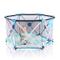 Box per bambini, box pieghevole e portatile per bambini, box pieghevole esagonale con rete...