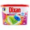DIXAN DUO CAPS MULTICOLOR 15 pz X 4 Conf (60 lavaggi)
