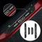 Battitacco Auto Esterno Batticalcagno per Spider 500/C/X/L Adesivi delle Soglie delle Port...