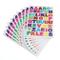 Ultnice 10fogli adesivi alfabeto colorato lettera adesivi per scrapbooking a alla Z