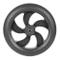 JVSISM Ruota Posteriore di Ricambio per Mozzo Posteriore e Pneumatici Kugoo S1 S2 S3 Acces...