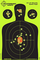 Confezione da 25 - 30,5 x 45,7 cm - Silhouette Splatterburst bersagli reattivi di tiro -Im...
