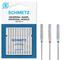 SCHMETZ - Aghi per Macchina da Cucire universali (Regolari/Standard), Misure assortite 70/...