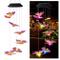 Demiawaking Scacciapensieri LED Solare Farfalla Campane Tubolari a LED Multicolore Luci da...