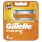 Gillette Fusion Lamette per Rasoio da Uomo, 1 Pacco da 4 Pezzi, Packaging può variare
