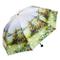 Ombrello pieghevole automatico antivento uomo bam- Retro Three Fold Anti-UV - Ombrello da...